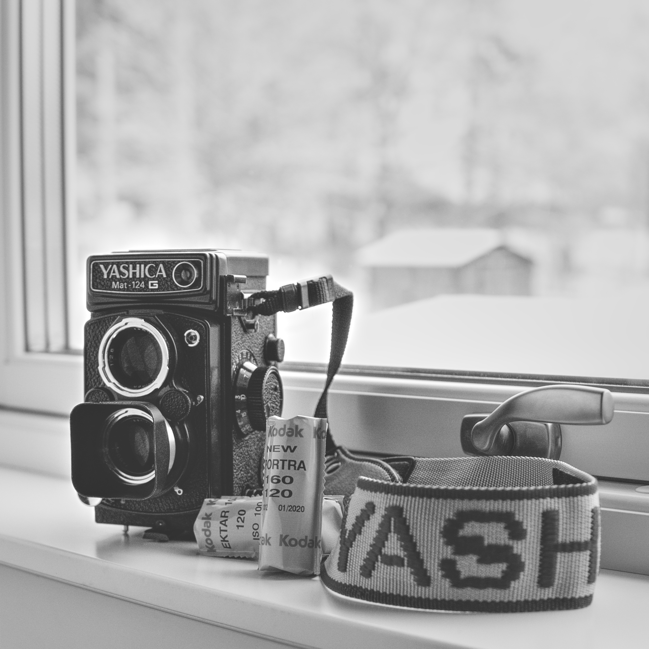 Yashica Mat-124G (Pic: Rodinal Jones)