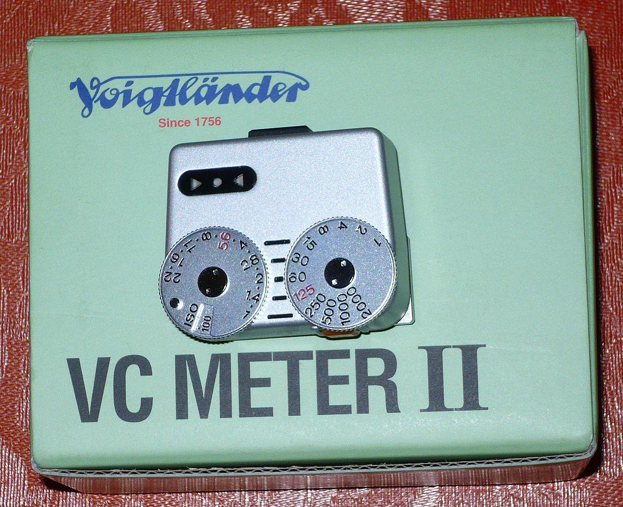 Voigtlander VC Meter II (Pic: Gisling/Wikimedia Commons)