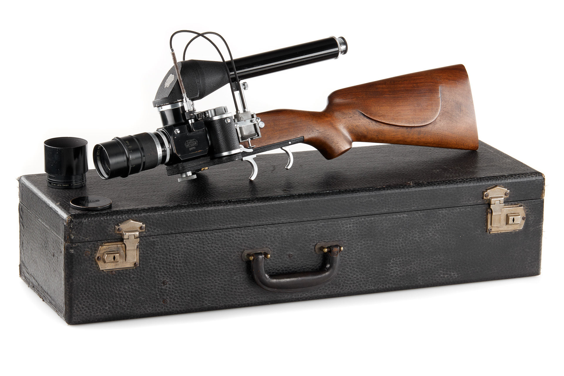 Leica Gun Rifle and case (Pic: Leitz Photographica Auction)