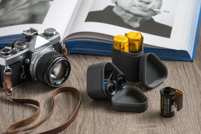 Ukua film cases (Pic: Ukua/Kickstarter)