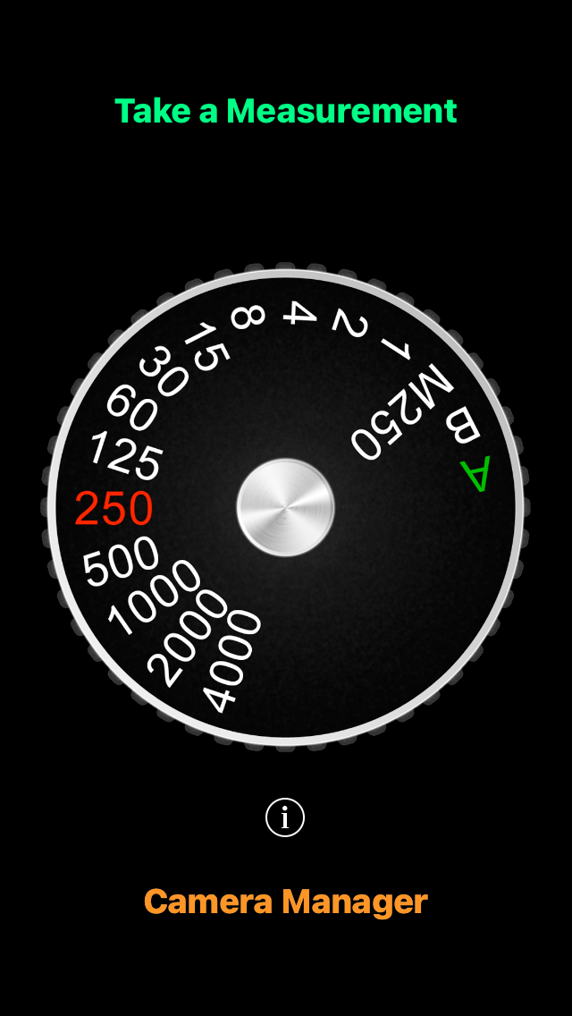 Lightmeter display (Pic: Oleg Khalyavin)