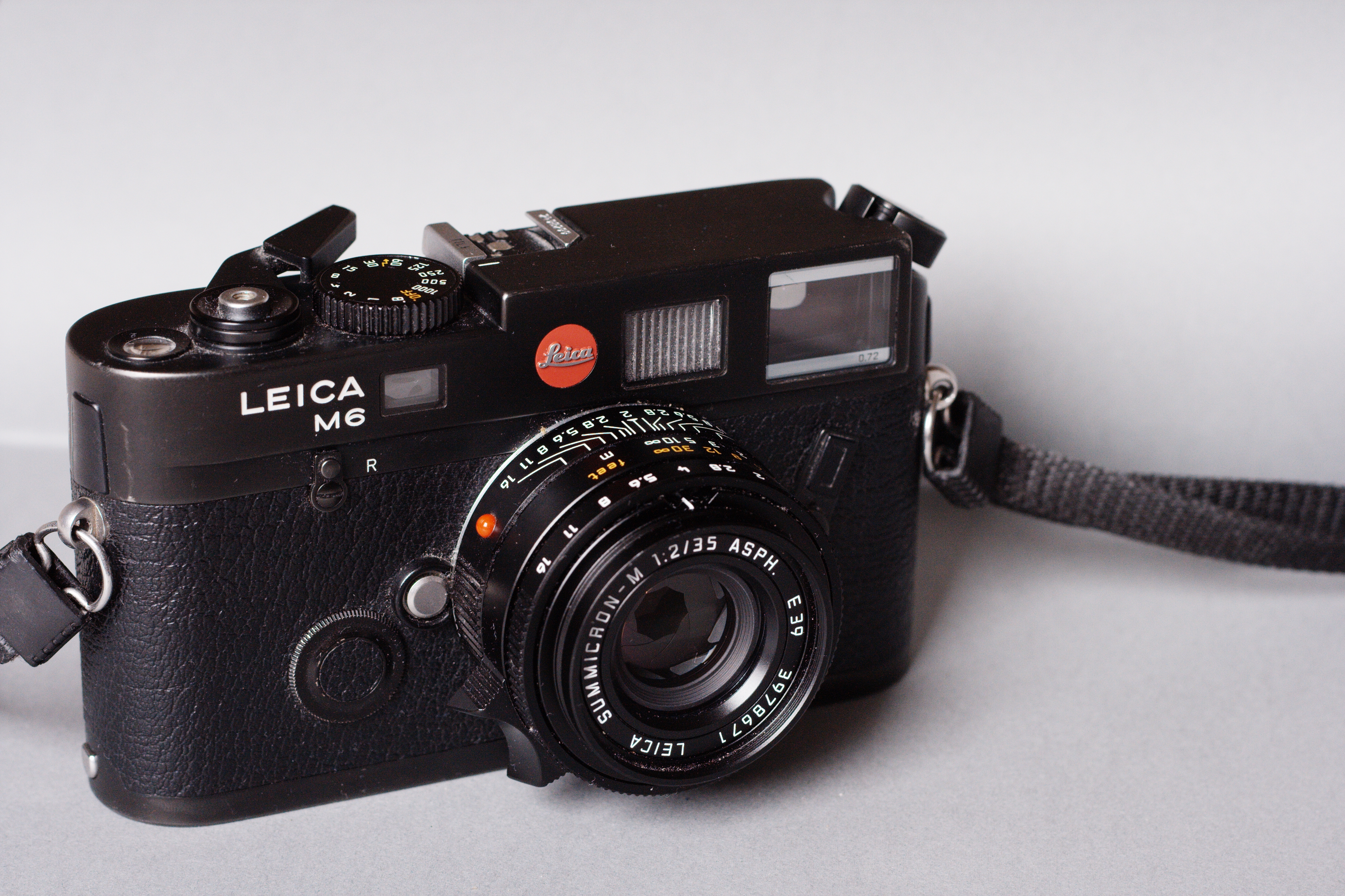 Leica M6 TTL (Pic: Thomas Claveirole/Wikimedia Commons)