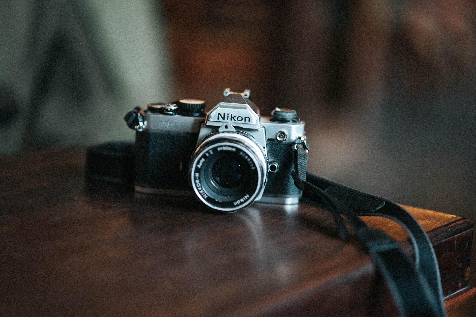 Nikomn film camera (Pic: Thuan Vo/Pixabay)