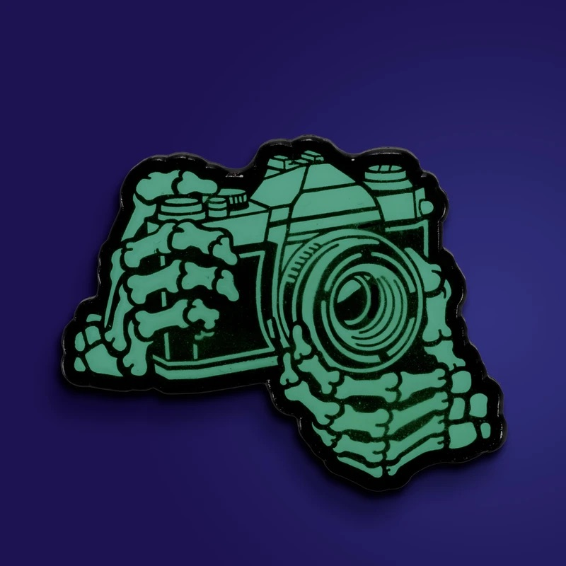 Shoot Film Co skeleton pin (Pic: Shoot Film Co)