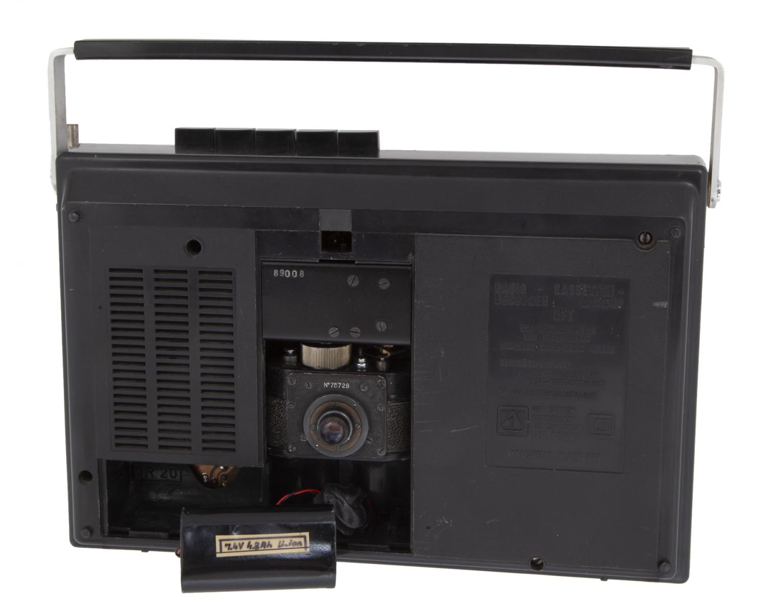 KGB cassette player (Pic: Julien's Auctions)