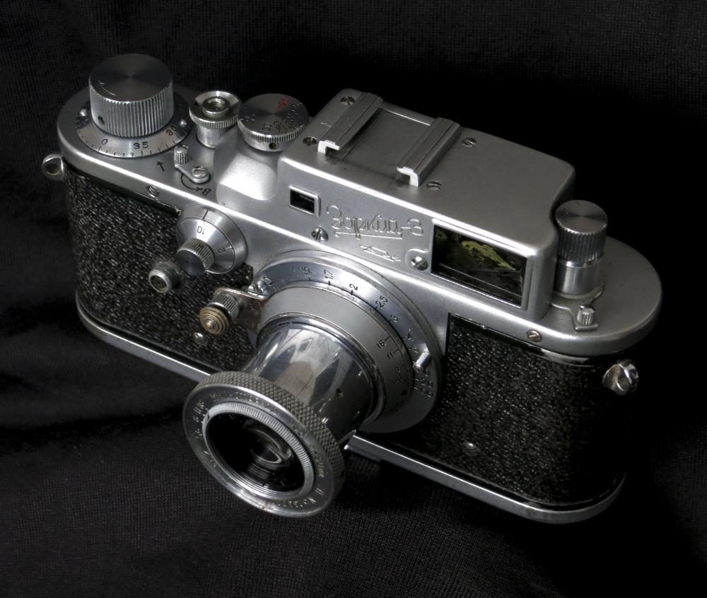 Zorki-3 camera (Pic: Paulo Moreira)