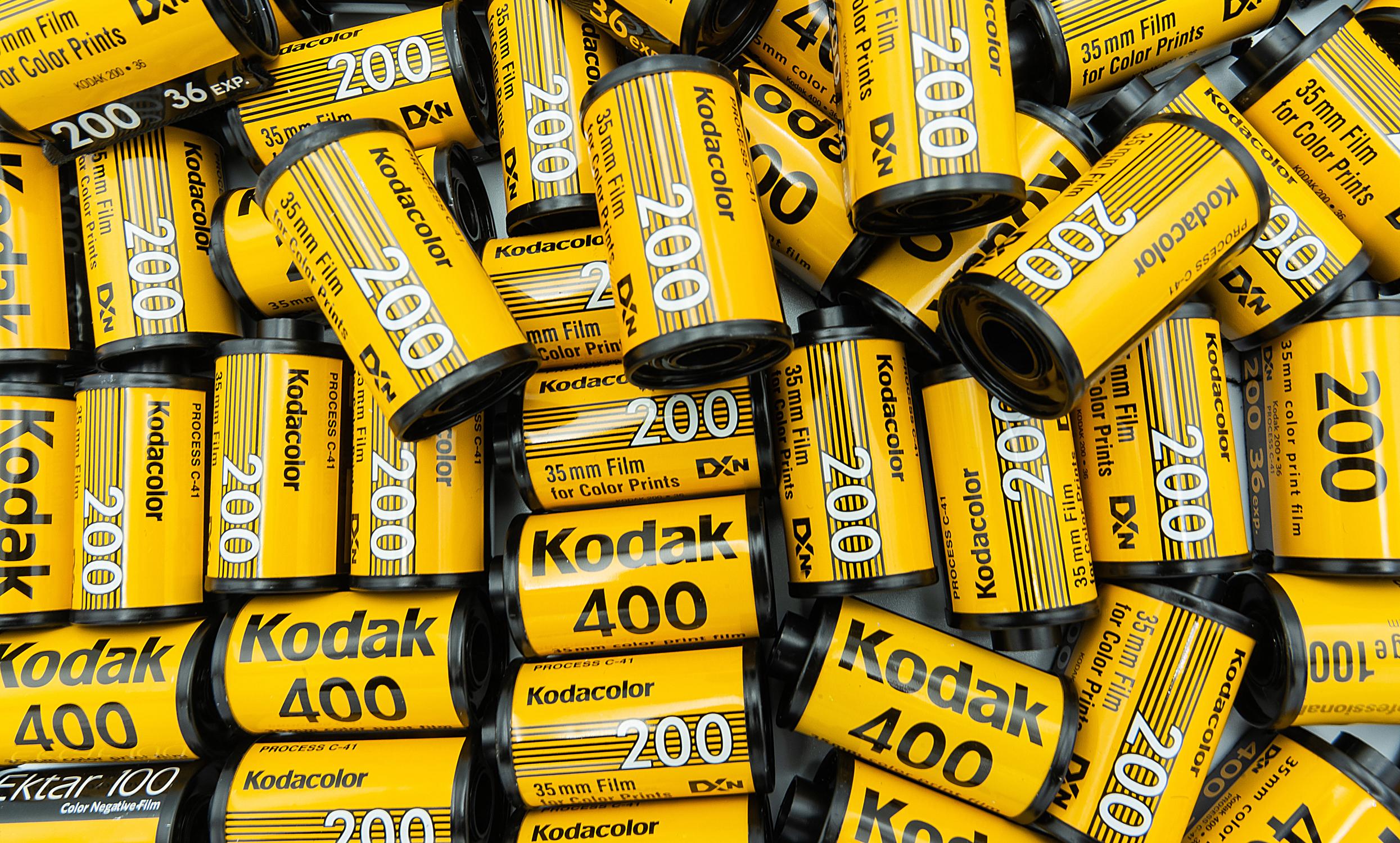 Kodak film (Pic: Sontat_rock/Shutterstock)