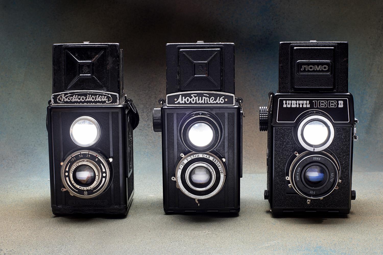 Lubitel cameras (Pic: Jay Javier)