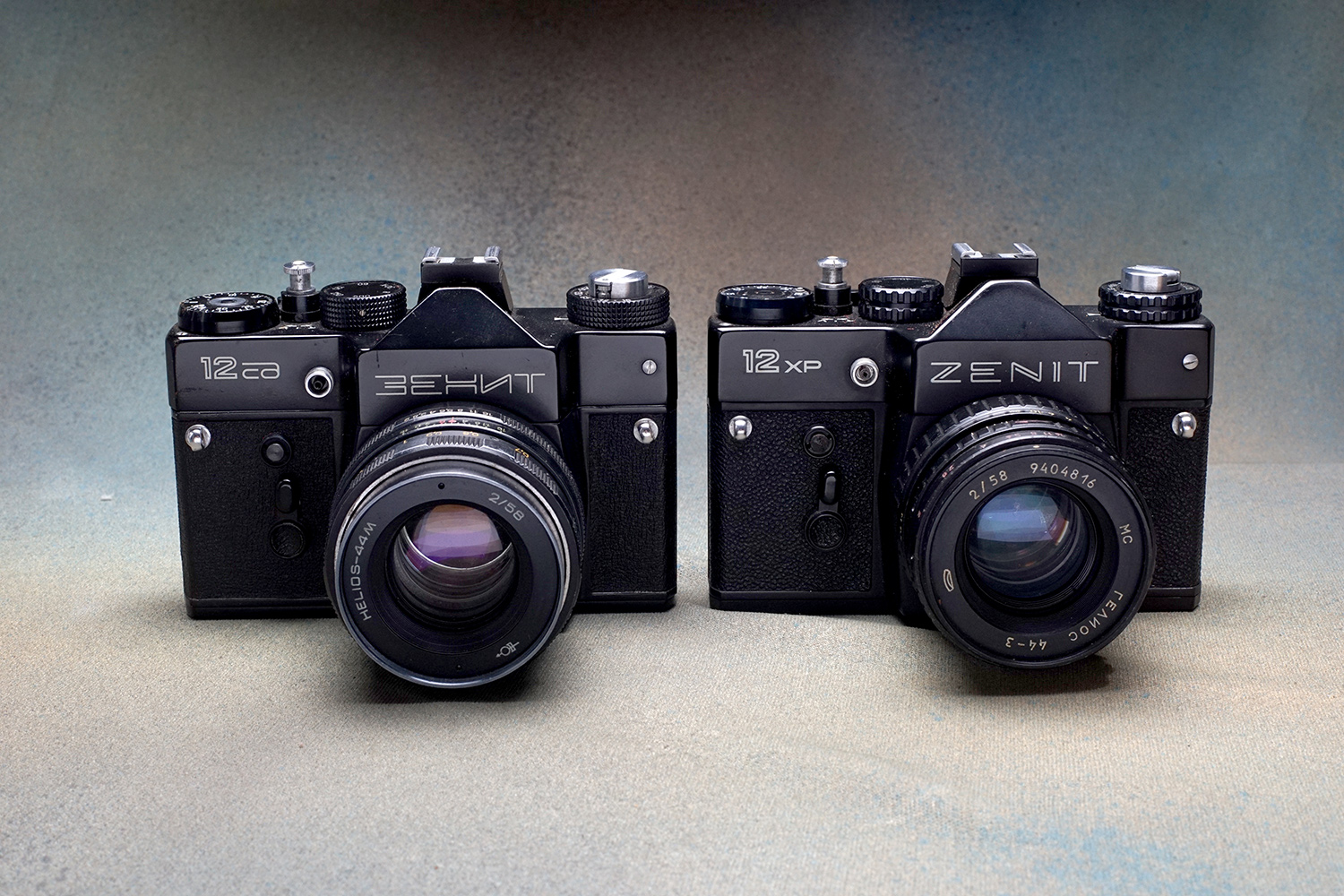 Zenit-12Xp and SC (Pic: Jay Javier)