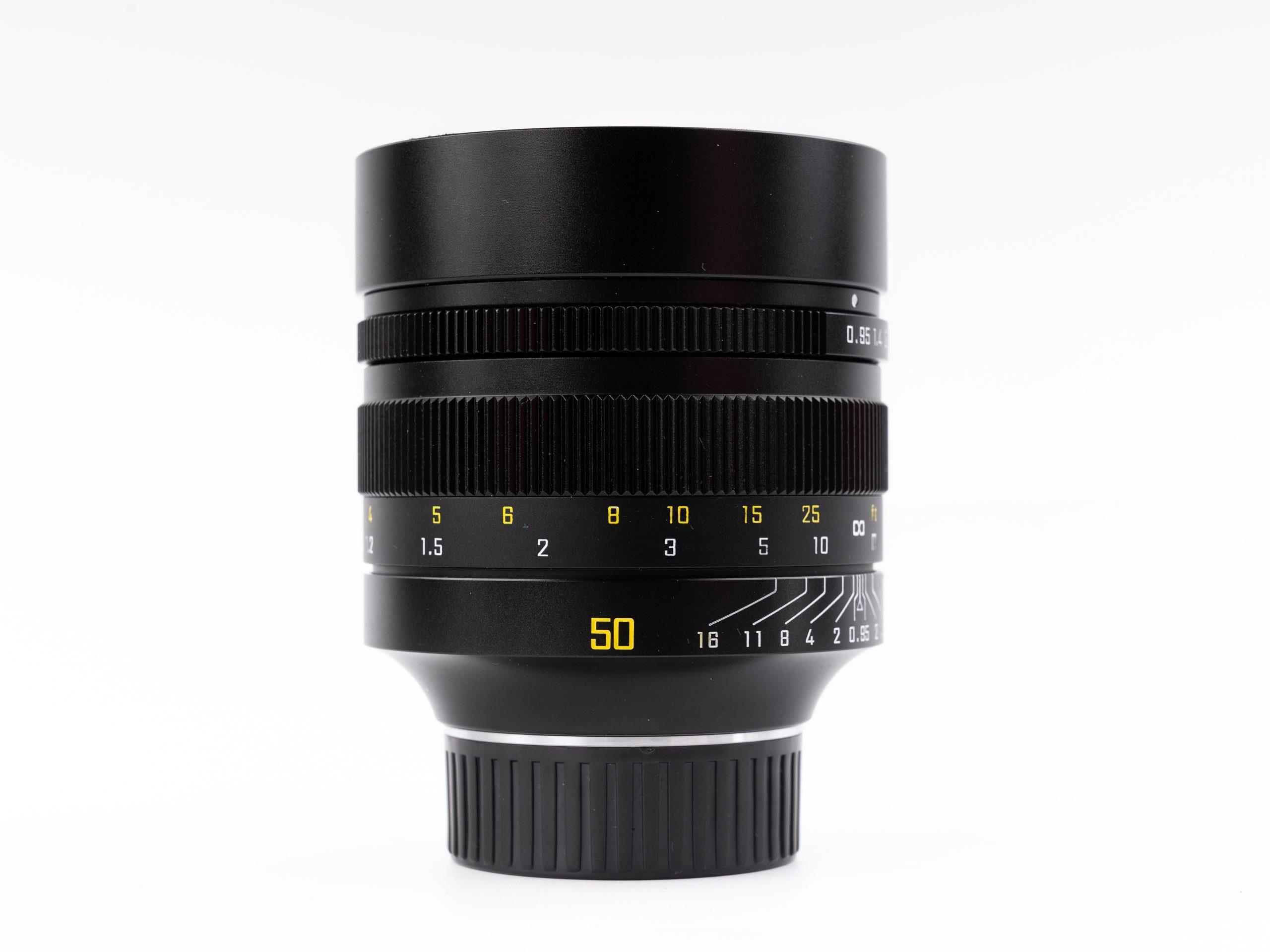 ZY Optics 50/0.95 lens (Pic: ZY Optics)