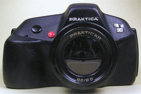Praktica BY60 engineering model (Pic: Via Praktica Collector)