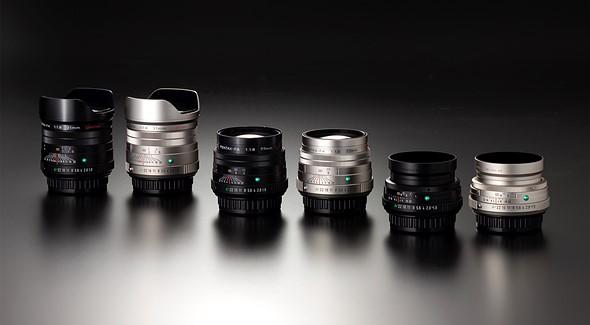 New Pentax lenses (Pic: Ricoh)