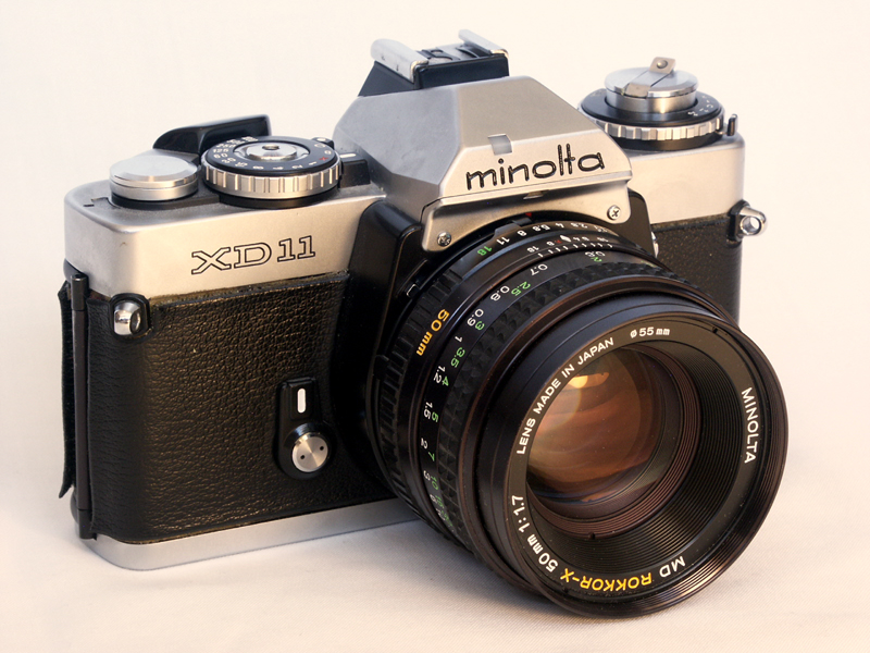 Minolta XD-11 (Pic: Camerafiend/Wikimedia Commons)