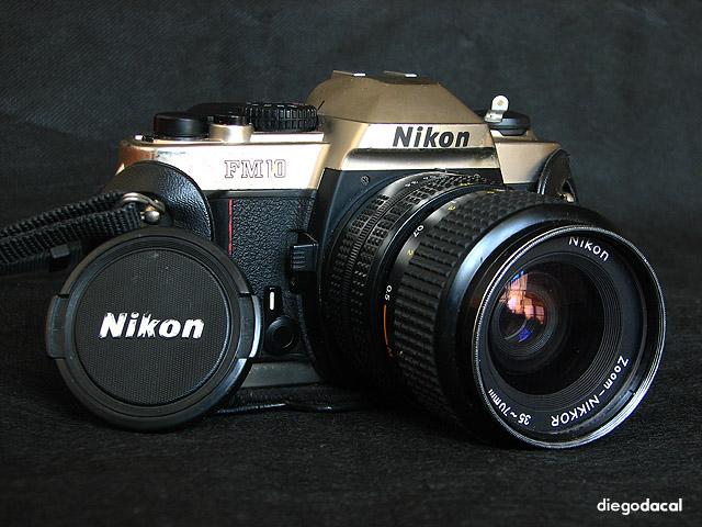 Nikon FM-10 (Pic: Diego Dacal)