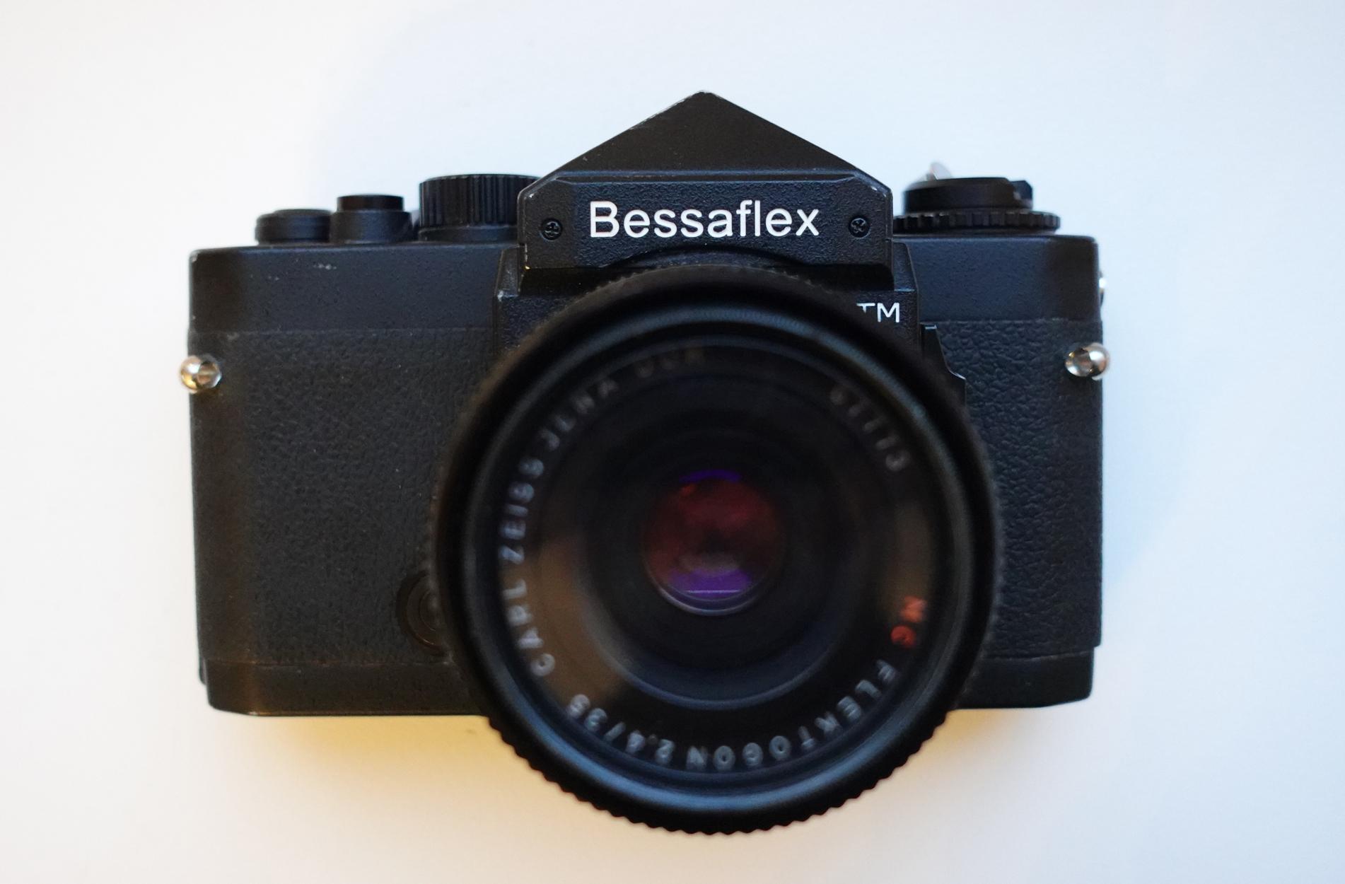 Voigtlander Bessaflex TM (Pic: Stephen Dowling)