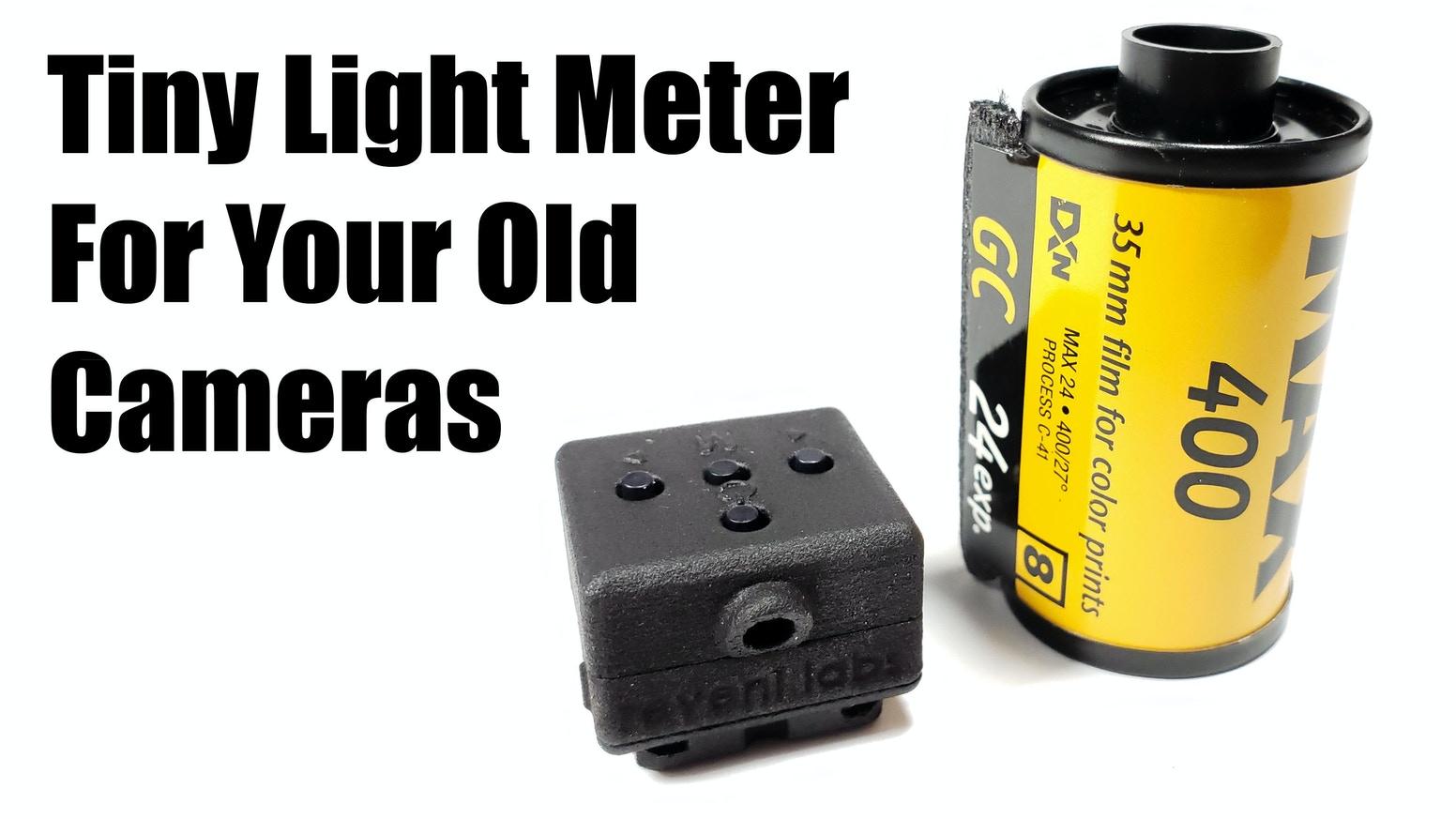Reveni Labs meter and film cassette (Pic: Reveni Labs)