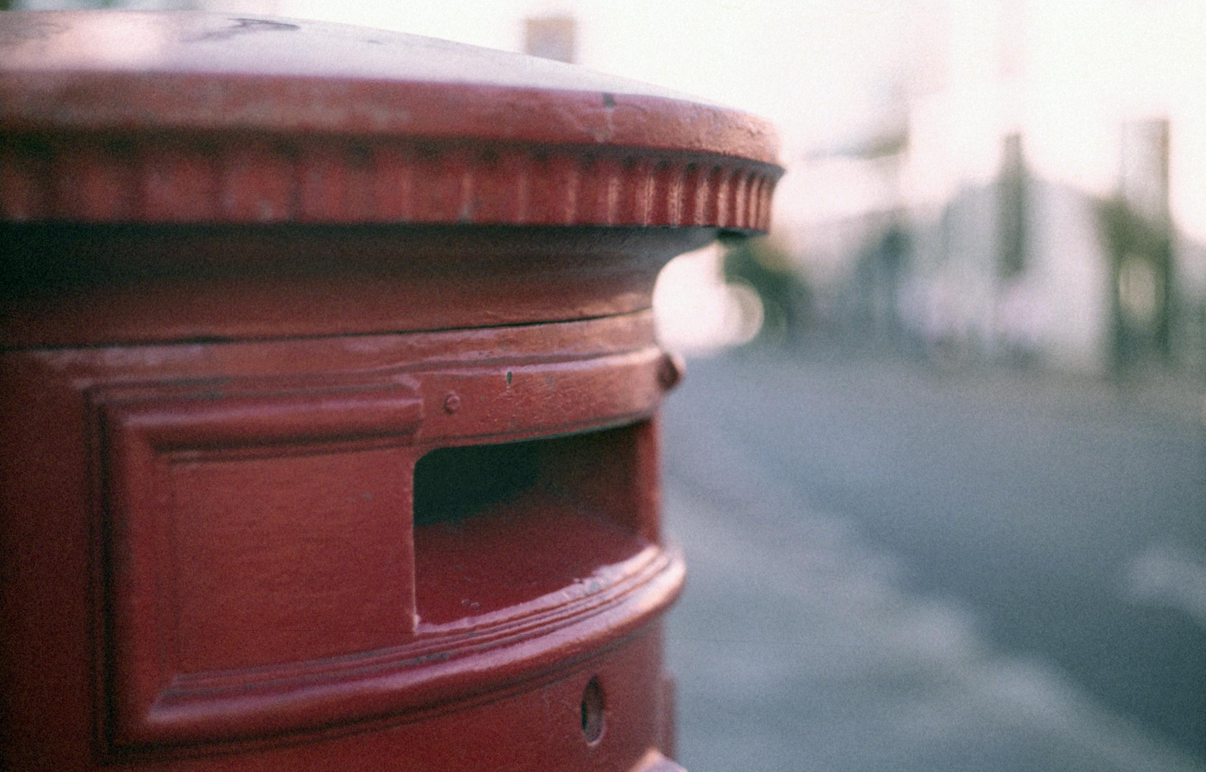 Postbox slot (Pic: Stephen Dowling)