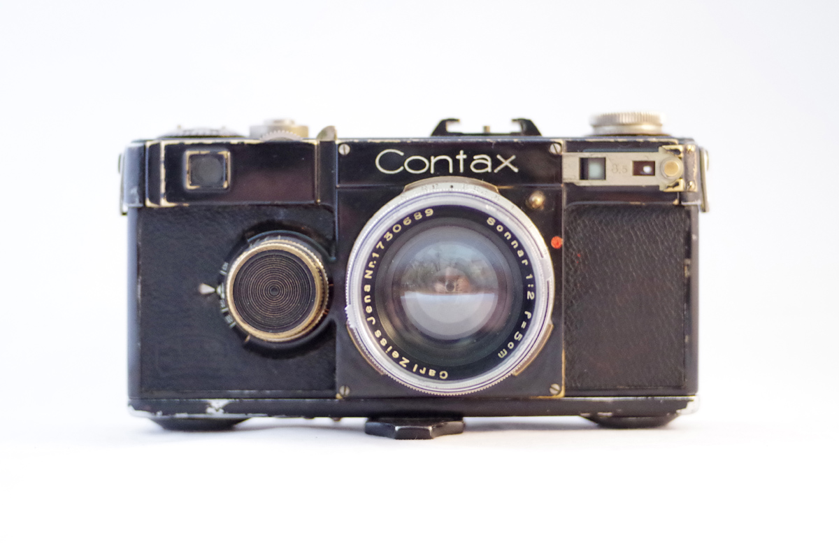 Contax rangefinder (Pic Justin Jakobson/Flickr)