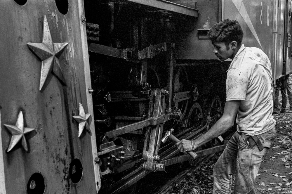 Hammering part of train (Pic: Nandakumar Narasimhan)