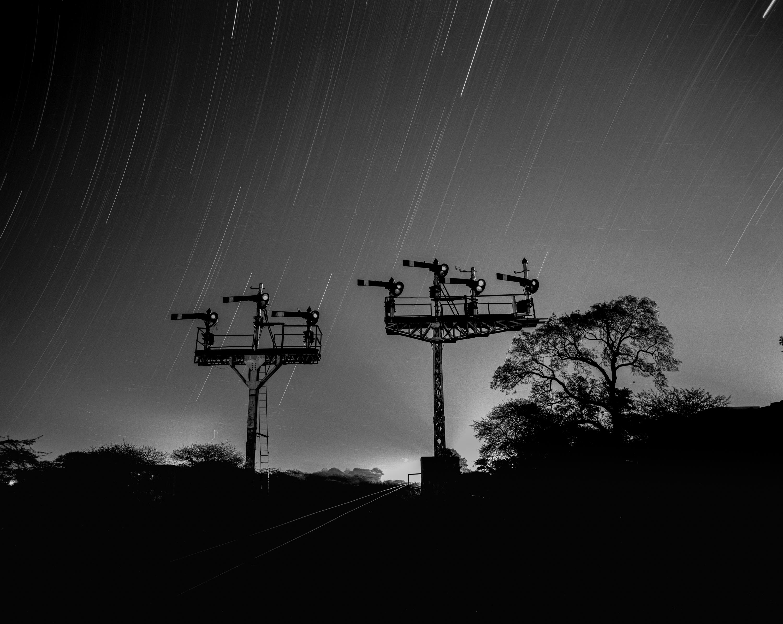 Signals and light trails (Pic: Nandakumar Narasimhan)