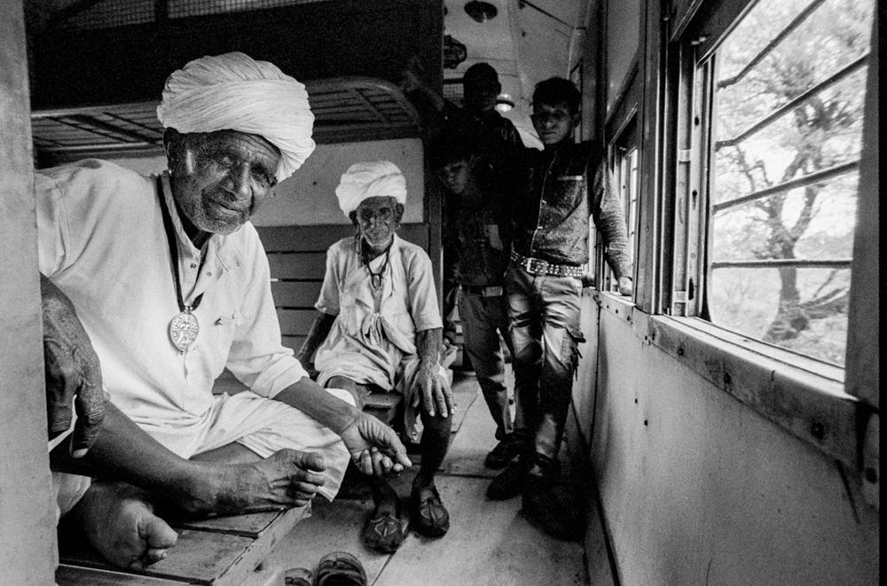 Group of men in carriage (Pic: Nandakumar Narasimhan)