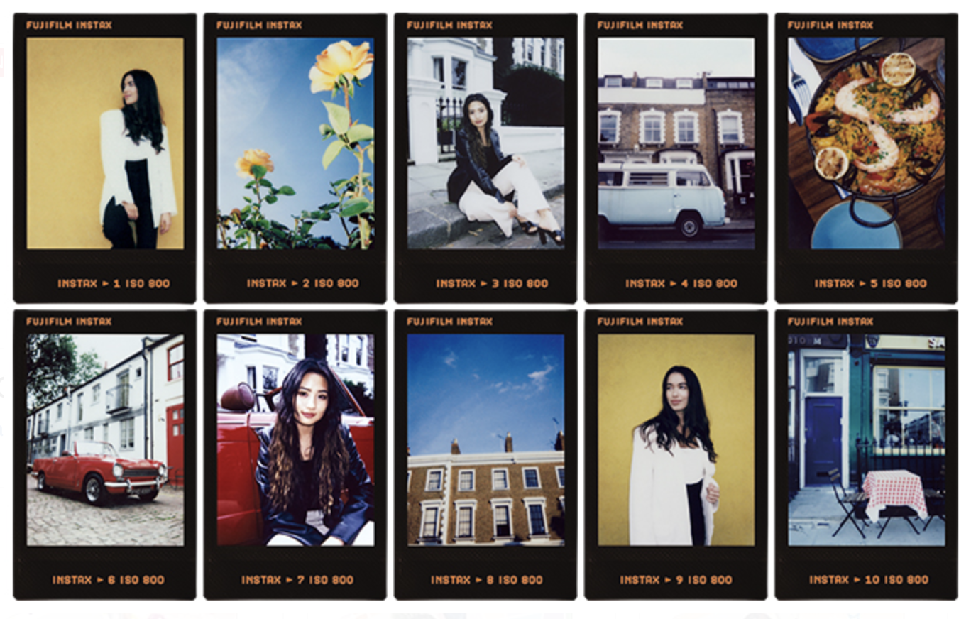 Instax Mini Contact Sheet film (Pic: Fujifilm)
