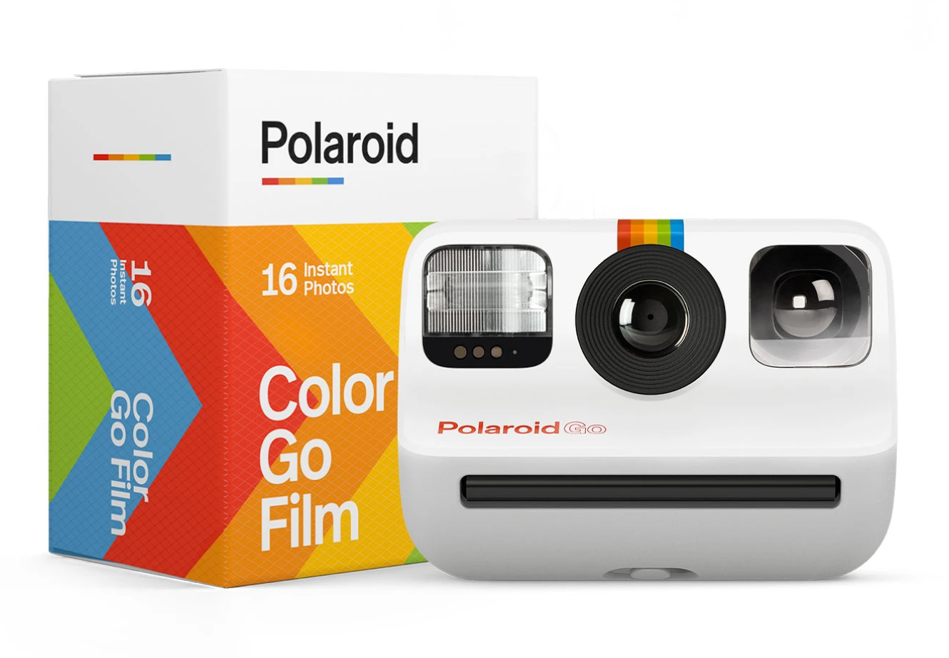 Polaroid Go and film (Pic: Polaroid)