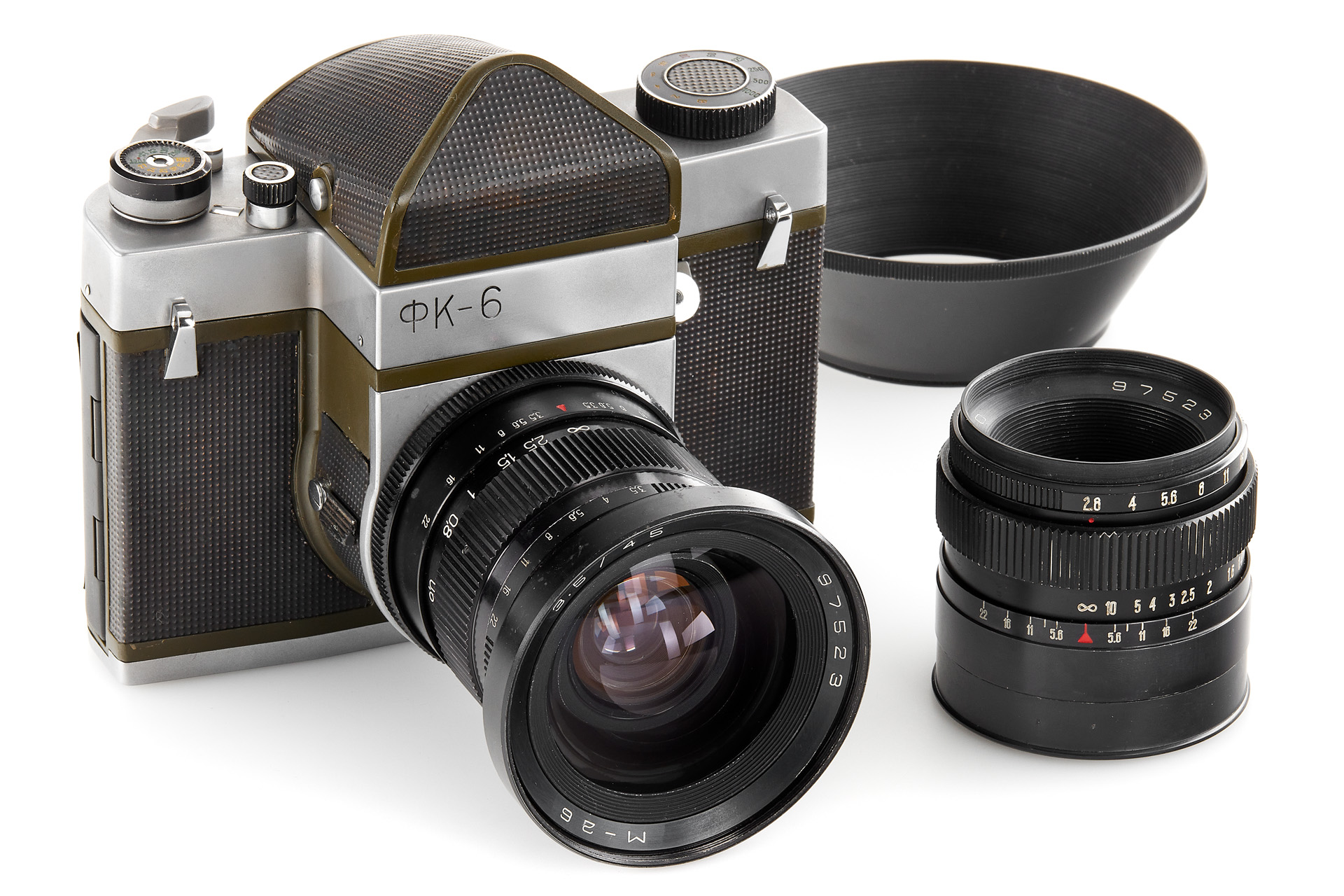 FK-6 and lenses (Pic: Leitz Photographica)