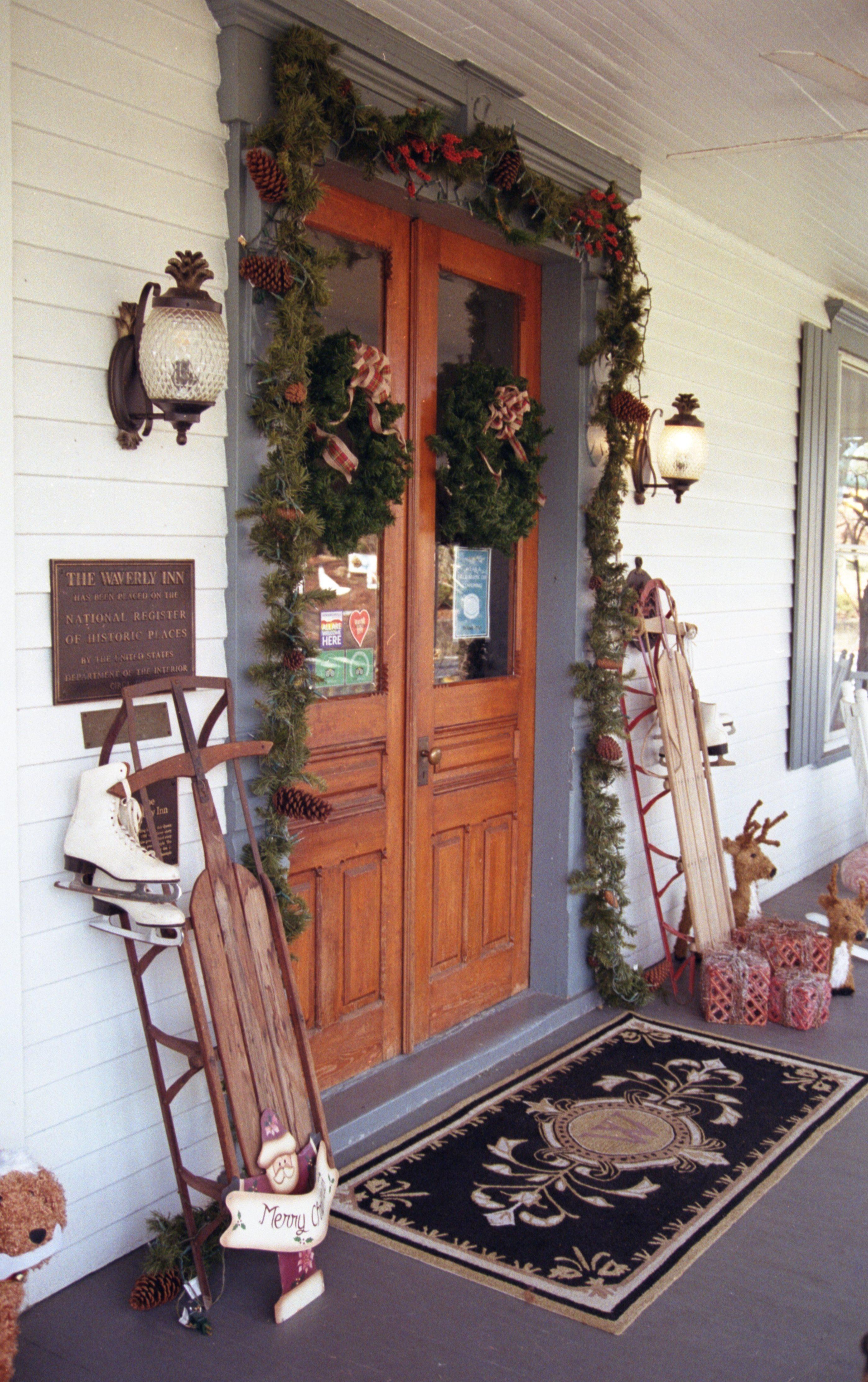 Inn front door (Kevin Lane)