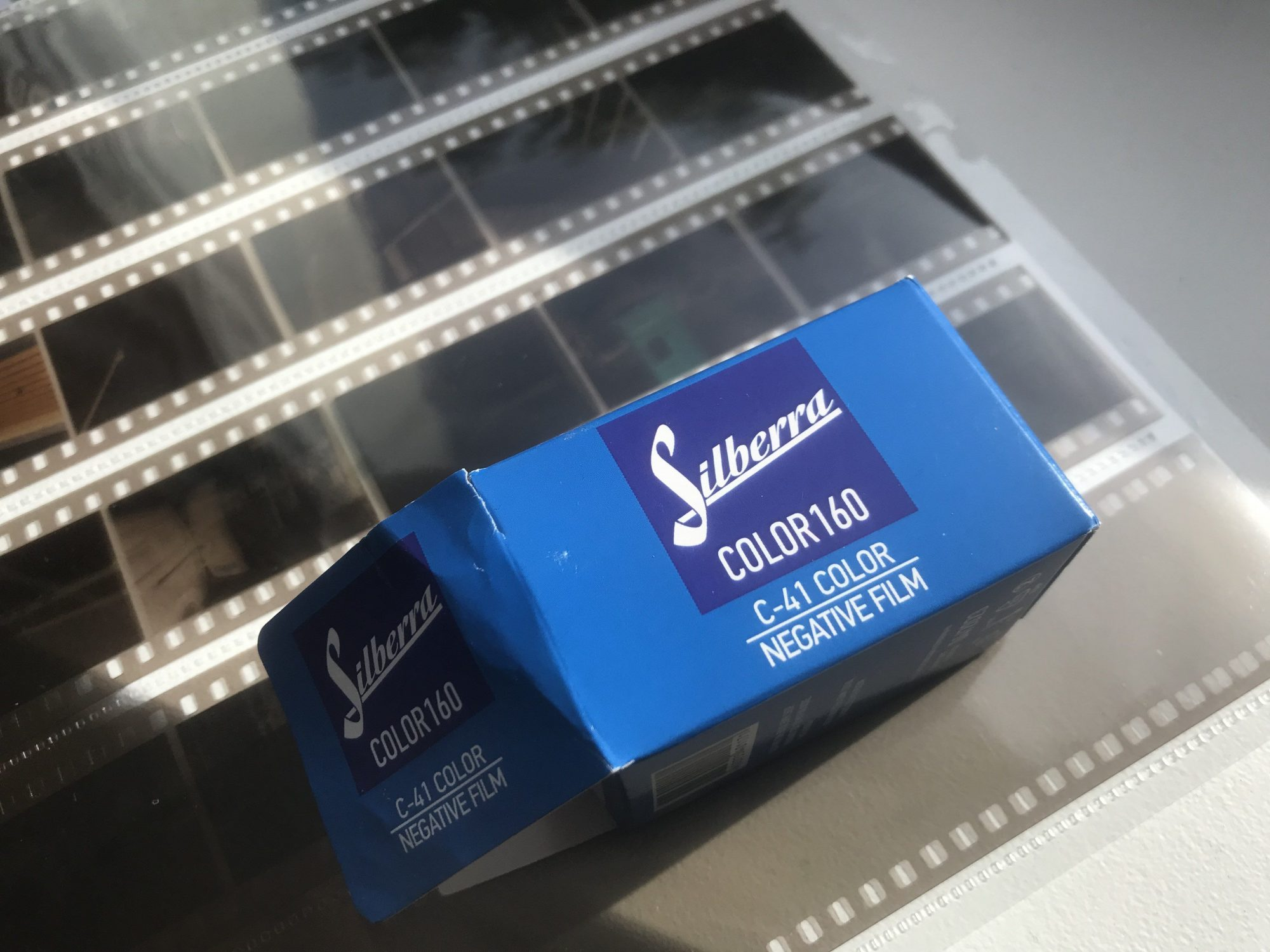 Silberra Color 160 film (Pic: Stephen Dowling)