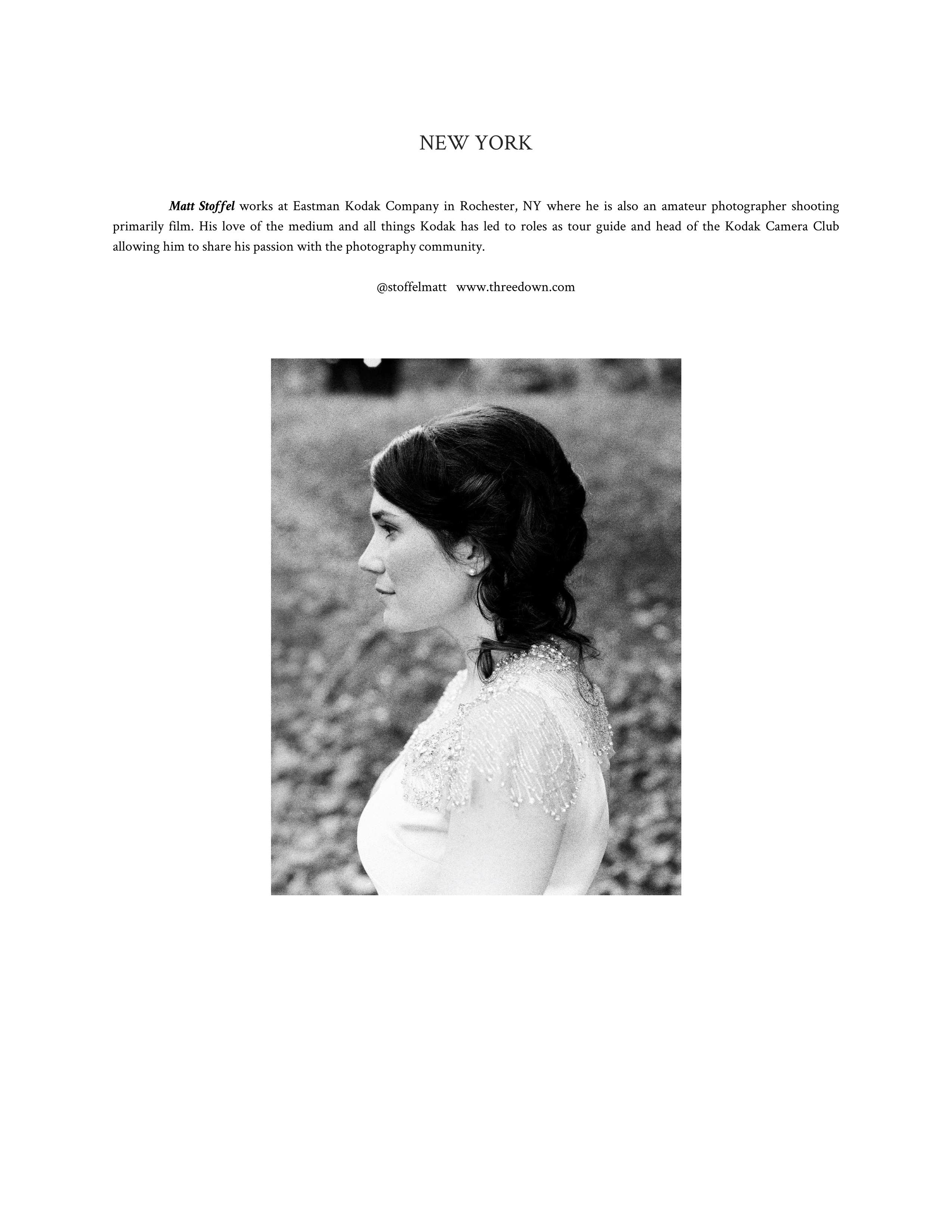 Portrait in profile of woman (Pic: Matt Stoffel)