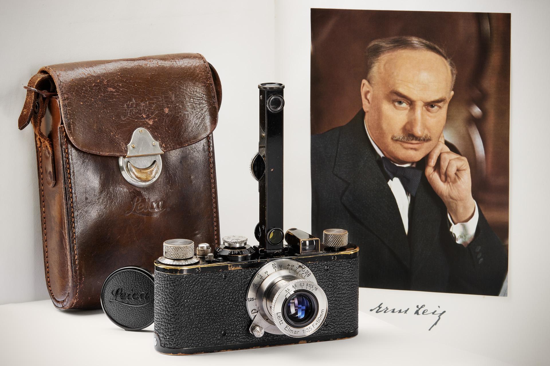 Leica I set (Pic: Leitz Photographica)