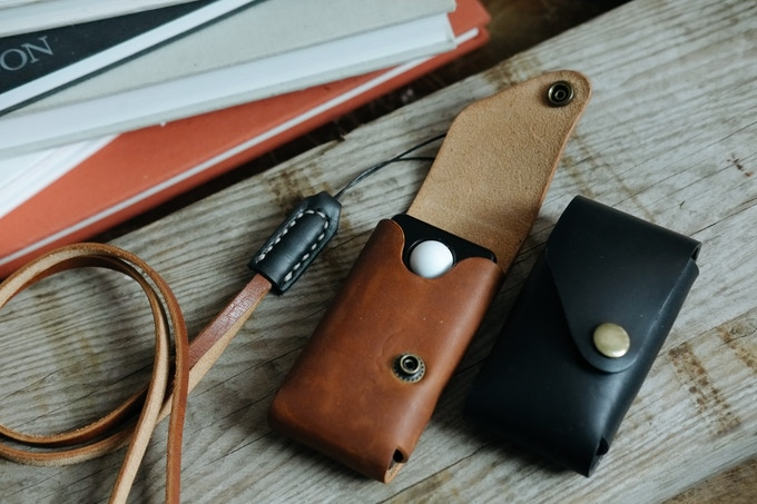 Leather case for meter (Pic: Negative Supply)