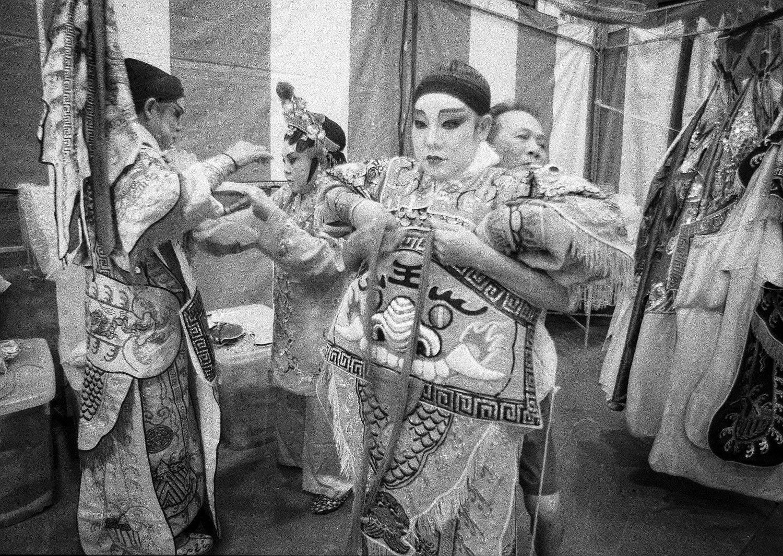 Actors in costume (Pic: Lester Ledesma)