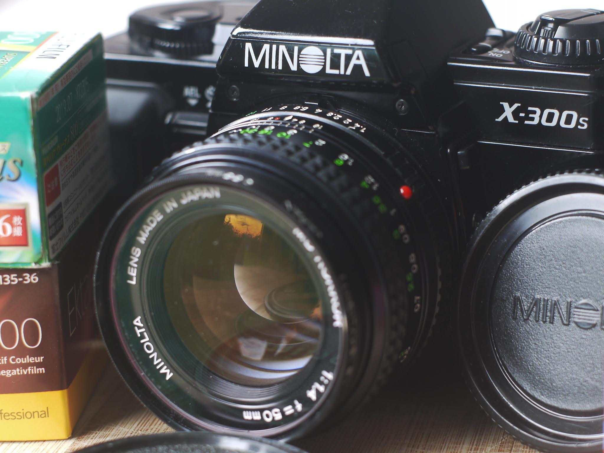 Minolta X-300s (Pic: Rob Andrews)