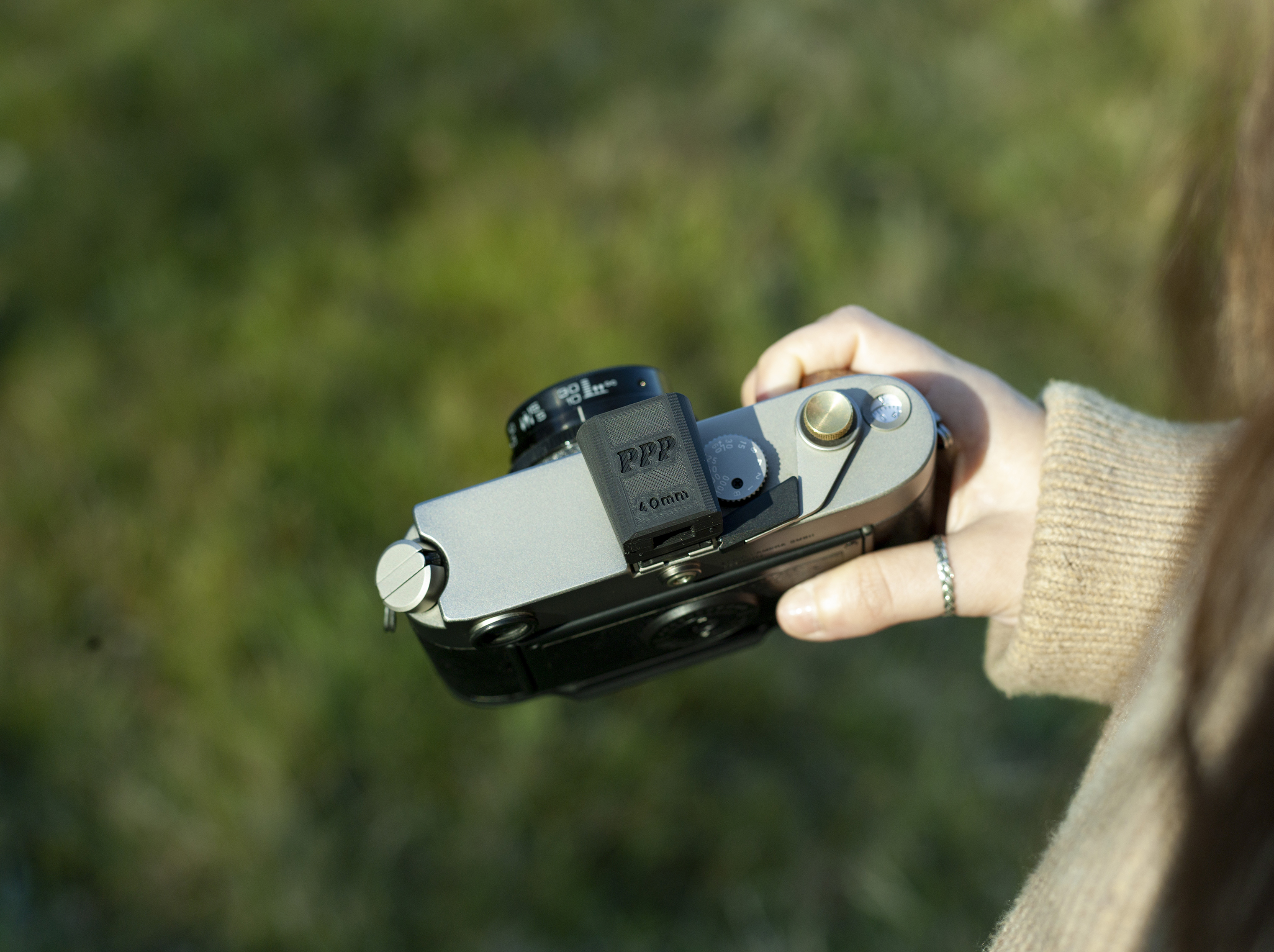 External viewfinder (Pic: PPP Cameras)