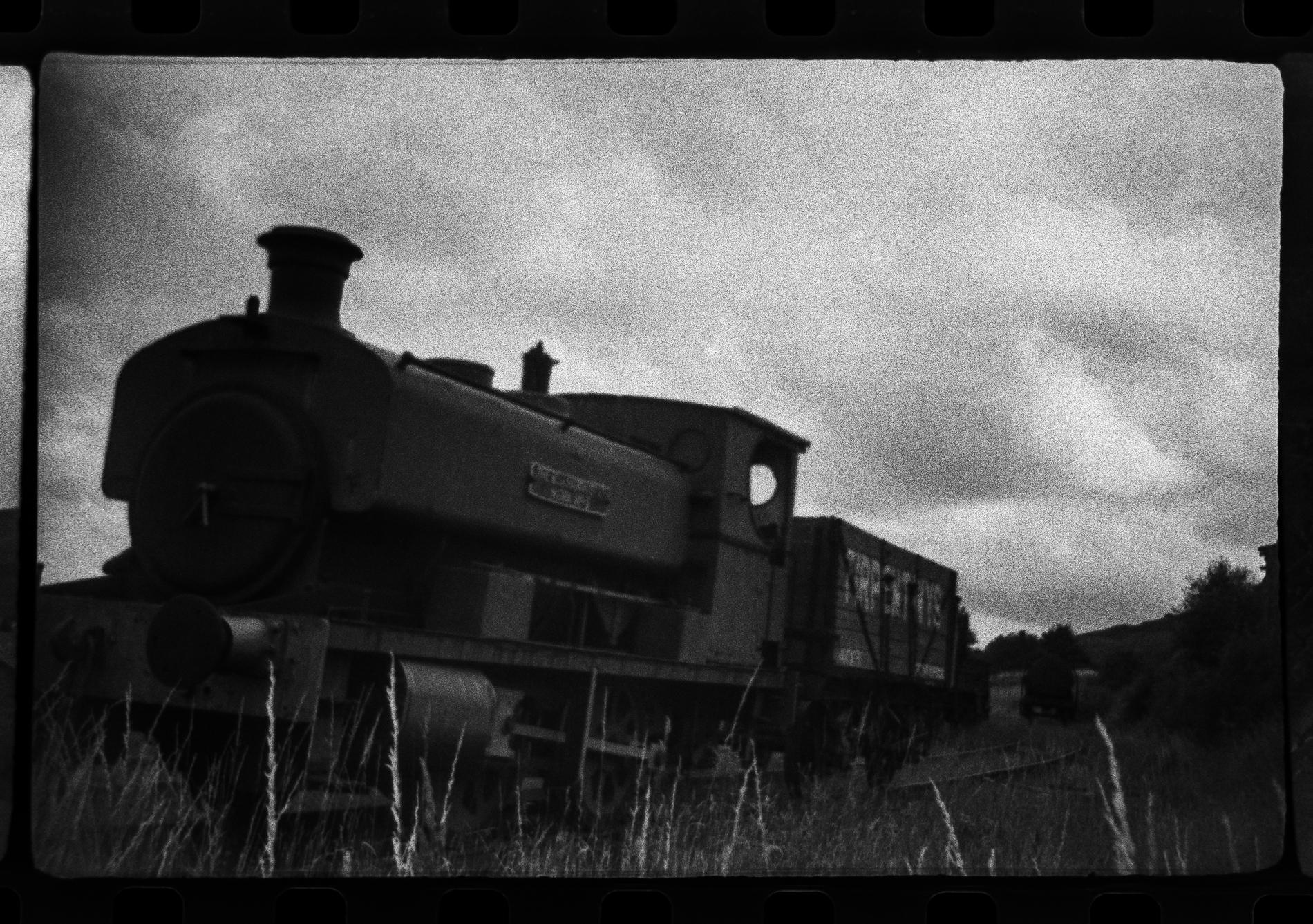Steam engine and overcast sky (Pic: Toby Van de Velde)