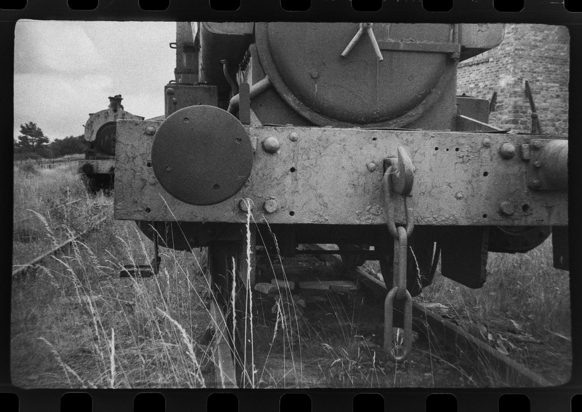 Close up of steam engine (Pic: Toby Van de Velde)