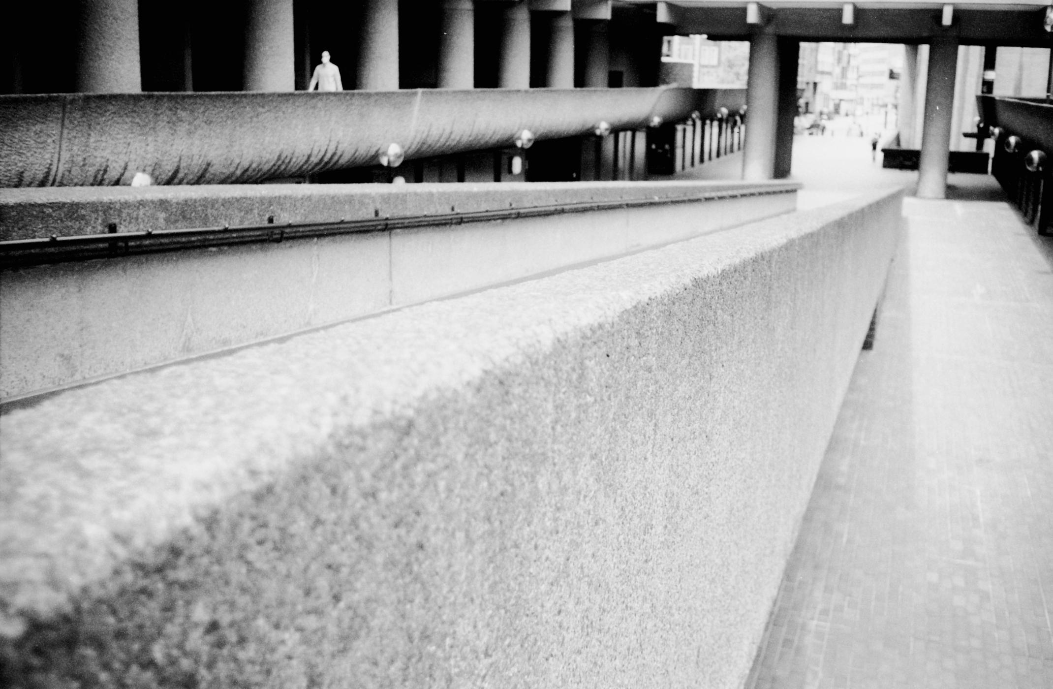 Walkways at Barbican (Pic: Stephen Dowling)