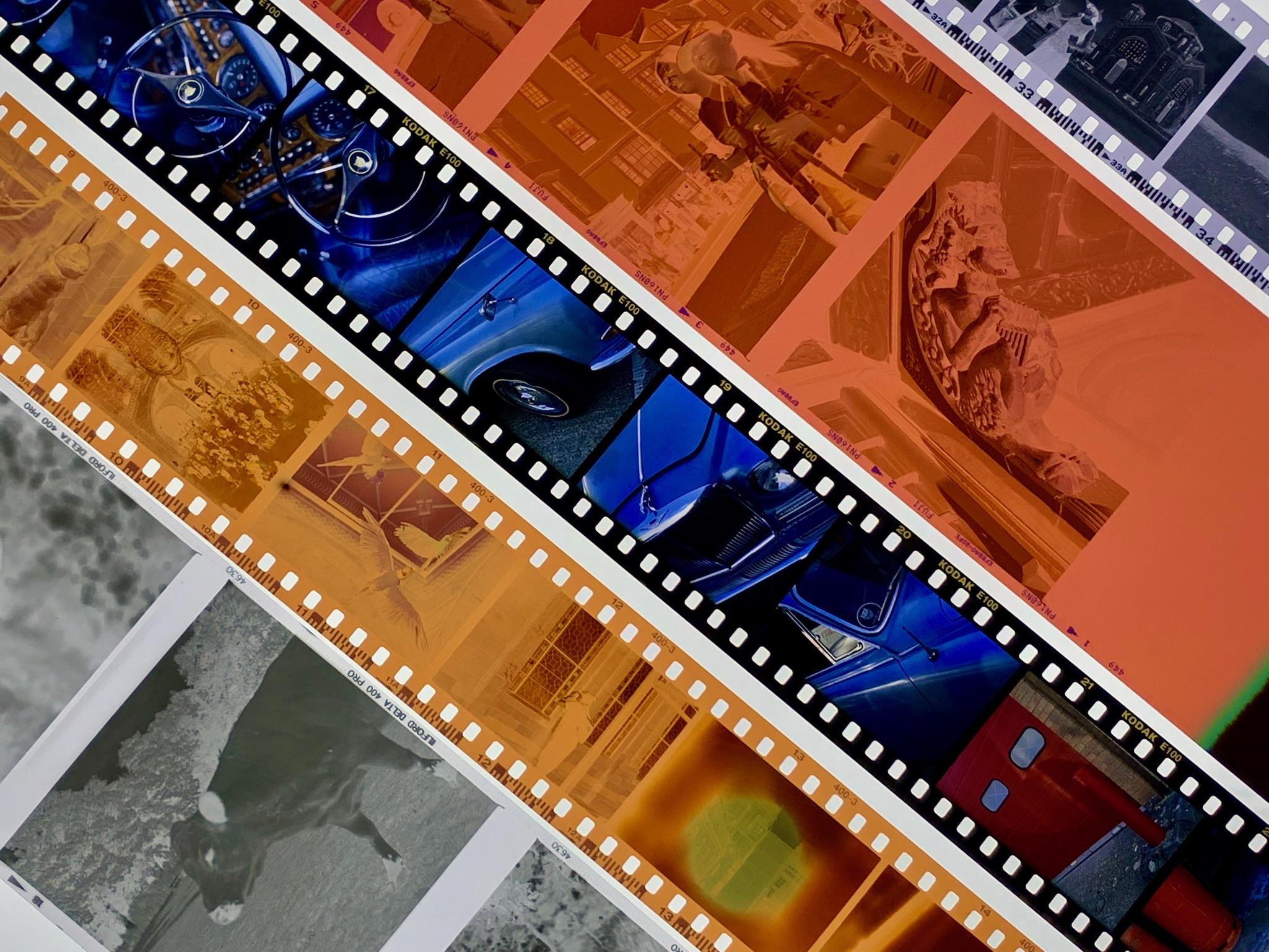 Developed film (Pic: Analogue Wonderland)