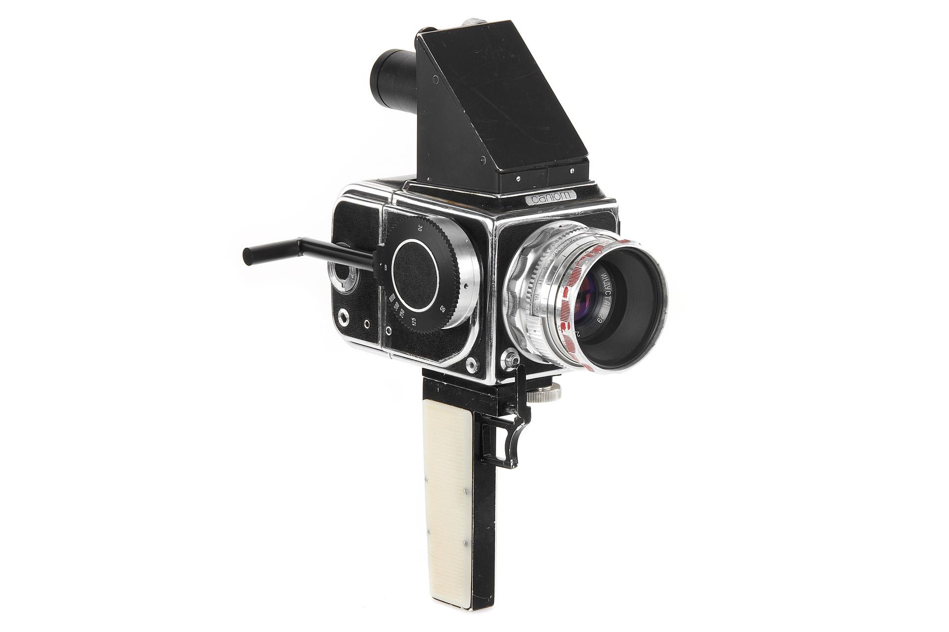 Salyut 1W camera (Pic: Leitz Photographica)